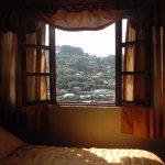 la habitacion muy comoda y agradable vista