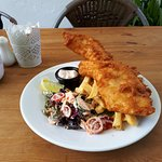here in ivy cottage recently had the chowder and the fish the food was aboustley stunning very t