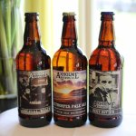 3 ales provided by Axeholme Brewery which is in the local area.