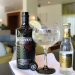 One of our premium gins on offer mixed with fevertree.