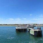 Taking the ferry to Martha's Vineyard