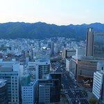 Kobe at sunset