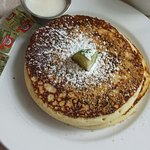 Key lime macadamia pancakes