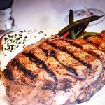 New York Steak with baked potato