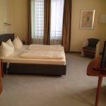 Schlafbereich in Junior-Suite