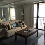 Condo 1035, one bedroom with living room with sleeper sofa