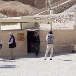 Tomb of King Tutankhamun entrance