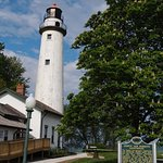 Picture of Pt. Aux Barques Lighthouse on Lake Huron
