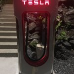 Tesla Superchargers are available!