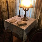 Original table and artifacts in the Meredith Willson family home