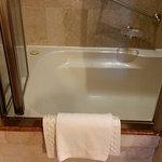 """El """"raro"""" acceso a la ducha"""
