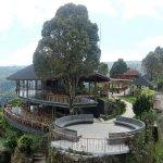 Restaurant Outdoor Garuda Wisnu Statue View