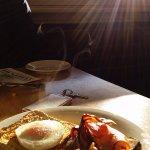 Golden Age Hotel breakfast!
