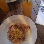 Le Ceviche + Jus de Mangue
