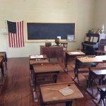 School room for white children only!