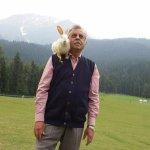 Play with a cute rabbit at Baisaran