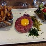 tartare et frites maison