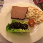Pate starter - With Water Biscuits?