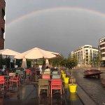 Wunderschön unterm Regenbogen!