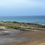 Playa de Itzurun en marea baja