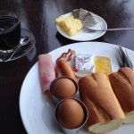 Delicious breakfast set