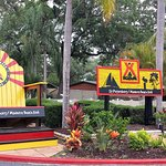Entrance of campground