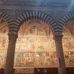 Frescos en el interior del Duomo