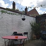 Outside seating now open. Nice quiet spot to enjoy a coffee and some sun!