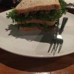 Tuna Sandwich with mayo separately