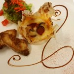 camembert au chorizo et  miel