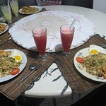 Our food and juice