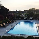 For a relaxing and affordable luxurious experience with a pristine outdoor pool and private mari