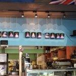 Interior of Rocky Bay Cafe