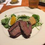 Watercress & Fennel Salad with Orange Glazed Duck & Mandarina IPA