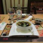 Szojaleves Lazaccal - salmon soup.