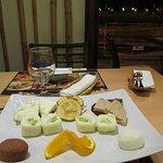 Bambuszliget Desszertizelito - dessert sampler: delicious!