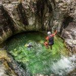 Corsica : Canyoning  de la Richiusa Bocognano