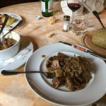 A local Valtellina stew with polenta. Enough for a family.