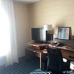 Living Room/ Desk Area of Suite