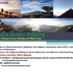 Photo of Mount Kerinci