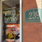 Quaint and quiet gathering place. Enjoy coffee pastry,  sandwich, cannoli or biscotti.  I loved