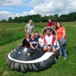 Great morning hovercrafting!