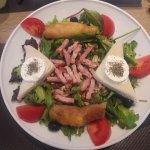 Salade chèvre chaud succulente !