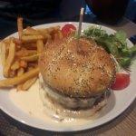 Hamburger sauce reblochon, gargantuesque !