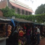 Olvera Street, ~1 mile from the hotel