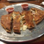 Make your own calzone -- it includes up to three toppings
