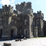 Wray castle as you approach from car park