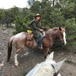 Trail guide and horsewoman extrraordinaire, Melissa
