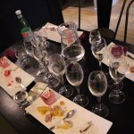 Tasting of local specialties with champagne