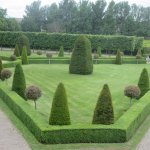 Formal gardens of IMMA